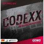 [GEWO] 게보 코덱스러버 Pro54(약 점착성러버) - 탁구러버