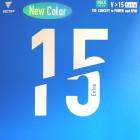 [빅타스] (컬러러버) V>15엑스트라 (블루) - 탁구러버 new 컬러러버